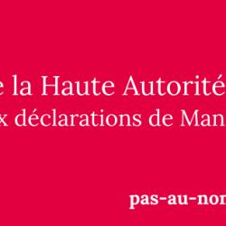 [Communiqué] Déchéance de nationalité : des militants socialistes saisissent la Haute Autorité Éthique du PS à l'encontre de Manuel Valls